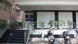 Stay 10 Service Apartments - Entry