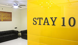 Stay 10 Service Apartments -Reception